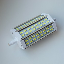 R7S - 118mm 48LED SMD5730 8W 740Lm Cold White VL