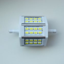 R7S - 78mm 24LED SMD5630 8W 640Lm Cold White