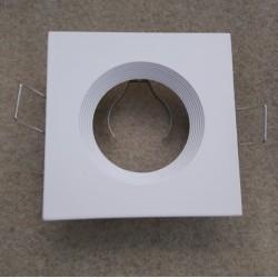 Rámček pevný štvorcový biely LEDLine