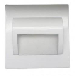 Schodiskové svietidlo BERYL-biele 1,5W 9xSMD3014 Warm White DC12V