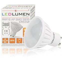 GU10 8LED SMD2835 4W 380Lm Natural White CCD LEDLUMEN