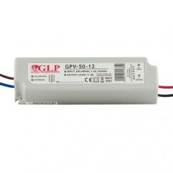 LED napájací zdroj 12V-48W Global Leader Power-GPV-50-12 IP67