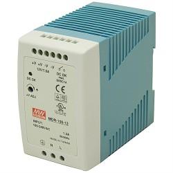 LED napájací zdroj 24V-96W Mean Well MDR-100-24 DIN