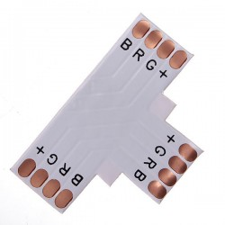 T-spojka pre RGB LED pásy flexibilná IP20 10mm