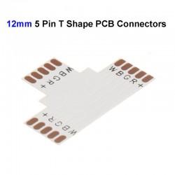 T-spojka pre RGBW LED pásy flexibilná IP20 12mm
