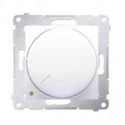 Stmievač pre LED SIMON54 Premium- otočný, dvojpólový - biely