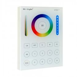 RF Nástenný dotykový ovládač RGB+CCT pre RF prijímače a svietidlá MiLight-B8 Panel