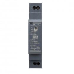 LED napájací zdroj 24V-15W Mean Well HDR-15-12 DIN