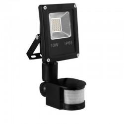 LED SMD reflektor 10W 800Lm CW PIR IP65 LUMIXA