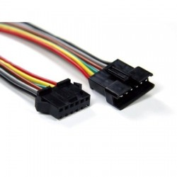 Quick connector - 6pin - RGB+CCT - pár Male/Female