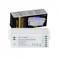 RF prijímač pre riadenie LED pásov RGB+CCT 5x6A (15A) MiLight