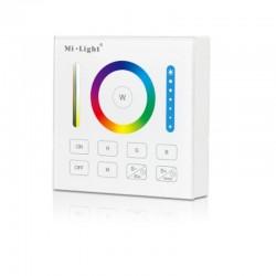 RF Nástenný dotykový ovládač RGB+CCT pre RF prijímače a svietidlá MiLight-B0 Panel