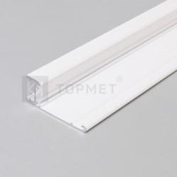 Hliníkový profil pre LED pásy WALLE12 - biely lakovaný
