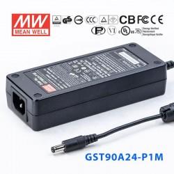 LED napájací zdroj Desktop 90W Mean Well GST90A24-P1M