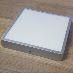 LED Panel Square 22,8x22,8cm 24W 1920Lm Natural White-Prisadený-Silver- masterLED