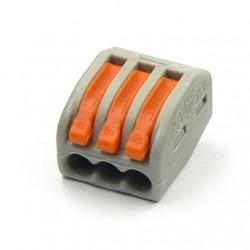 WAGO svorka bezskrutková 3x0,08-2,5mm/3x0,08x4mm-222-413