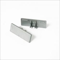 Koncovky pre hliníkový profil BACK10-biele/pár