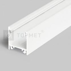 Hliníkový profil pre LED pásy LINEA20 - BIELY