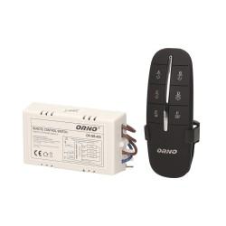 Rádiofrekvenčný spínač 3-kanálový 1000/300W AC230V-ORNO-406