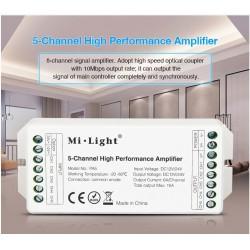 Zosilovač signálu 5x6A (15A) DC 12/24V MiLight PA5