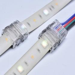 Klik konektor-spojka RGB-LED pás/Napájací vodič-Hippo-M
