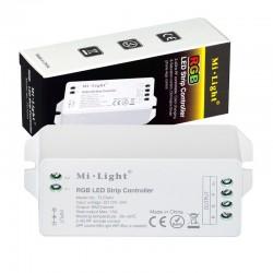 RF prijímač pre riadenie LED pásov RGB 3x6A (15A) MiLight