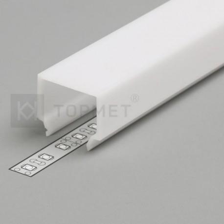 Difúzor mliečný-Opál E7 CLICK pre profil LINEA20, SURFACE14