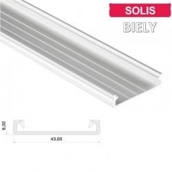 Hliníkový profil pre LED pásy LUMI SOLIS - ELOX