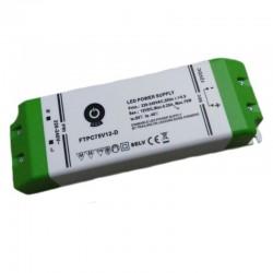 LED nábytkový stmievateľný napájací zdroj 24V-75W IP20 FTPC75V24-D