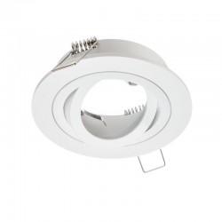 Rámček výklopný okrúhly Epsilon-O PremiumLUX - biely