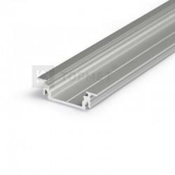 Hliníkový profil pre LED pásy GROOWE14 - zápustný - ELOX