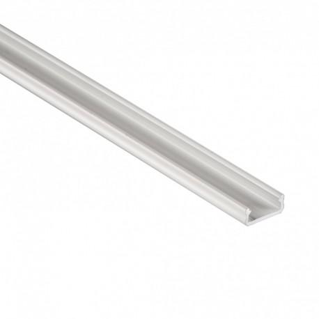 Hliníkový profil pre LED pásy LUMI-D 16x6,3mm - biely