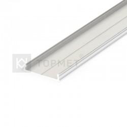 Hliníkový profil pre LED pásy FIX16 - surový hliník
