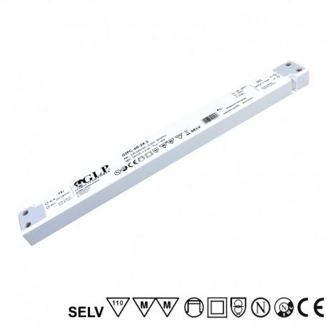 LED nábytkový napájací zdroj 12V-45W IP20 GTPC-45-12-S