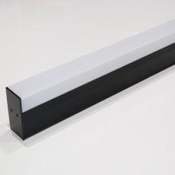 LED lineárne svietidlo 40W 3400Lm Natural White 120cm AC220/240V Black
