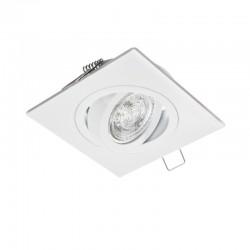 Rámček výklopný štvorcový MILANO PremiumLUX-biely