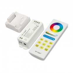 Set RGB kontrolér 2,4GHz RF DO+držiak DC12-24V 15A MiLight