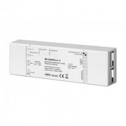 Stmievač PWM pre LED pásy (4in1) - TRIAK, DALI, 0/1-10V, PUSH SR-2303P
