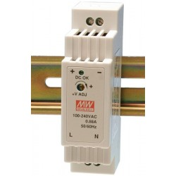 LED napájací zdroj 12V-15W Mean Well DR-15-12 DIN
