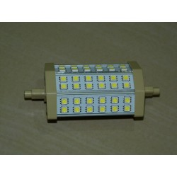R7S - 118mm 36LED SMD5050 8W 700Lm Cold White