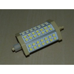 R7S - 118mm 42LED SMD5050 9W 700Lm Warm White DIMM