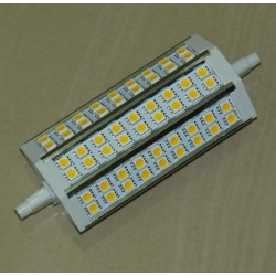R7S - 136mm 54LED SMD5050 10W 800Lm Warm White