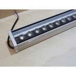 LED Wall 500mm 9x1W 700Lm Cold White DC12V IP65